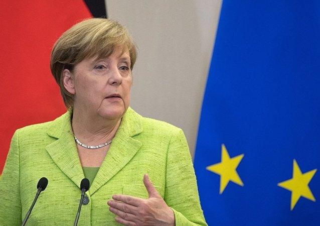 默克尔:中国正成为德国越来越重要的经济政治伙伴