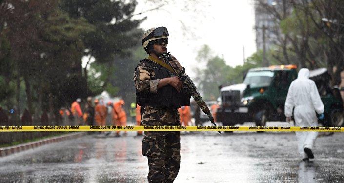 阿富汗警方