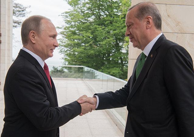 普京:俄罗斯和土耳其的关系获得特别地位 并得到完全恢复