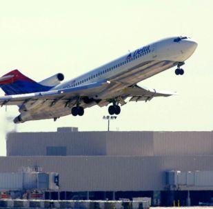 達美航空公司飛機