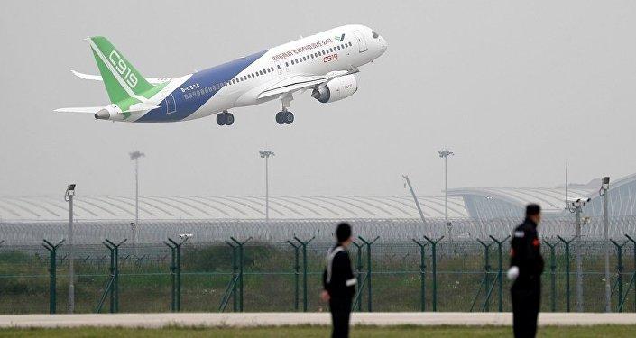 中國自主研制的新一代噴氣式大型客機C919