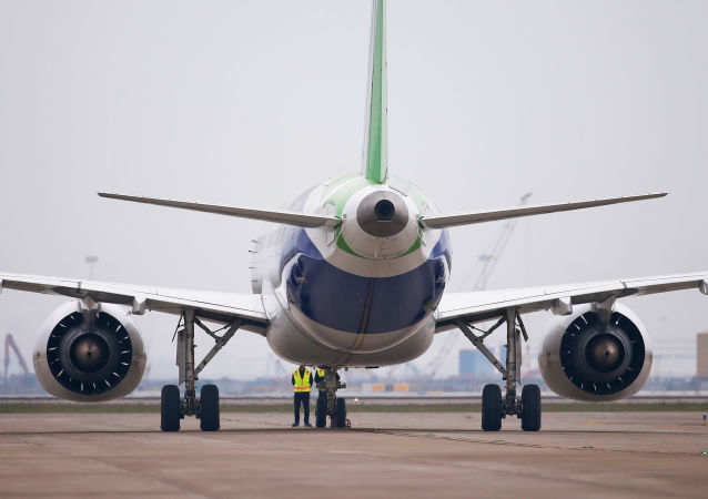 中国C919大飞机