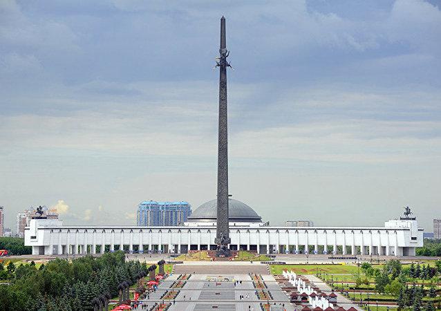 俄蒙人民反法西斯斗争纪念碑在莫斯科揭幕