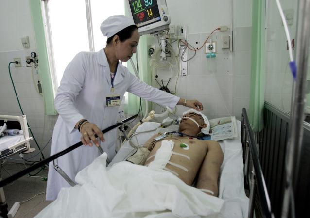 越南两车迎面相撞致10余人死亡23人受伤/资料图片/