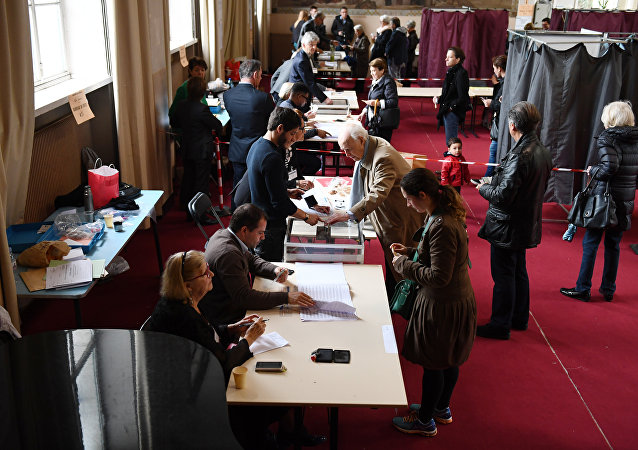 法国总统选举第二轮投票