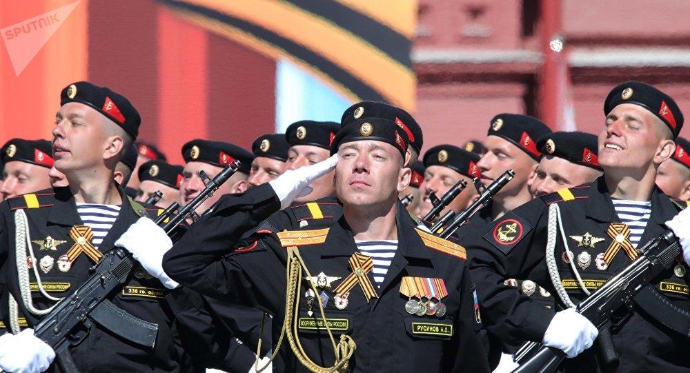 俄海軍陸戰隊