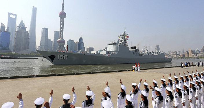 中國欲打造海軍絲綢之路