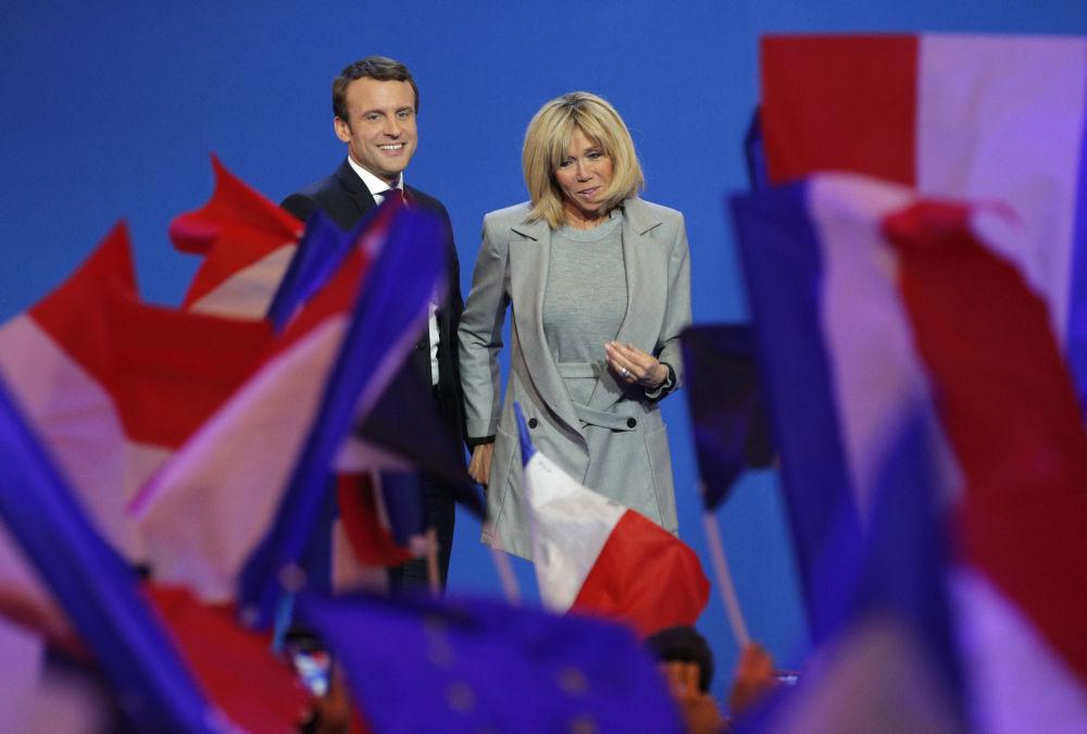 法国第一夫人:我们所知道的布丽吉特·马克龙