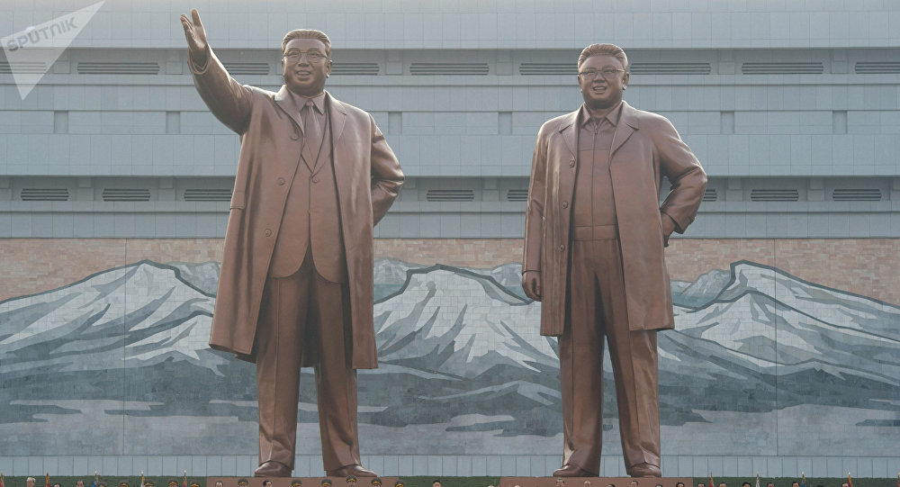 金日成和金正恩日紀念碑
