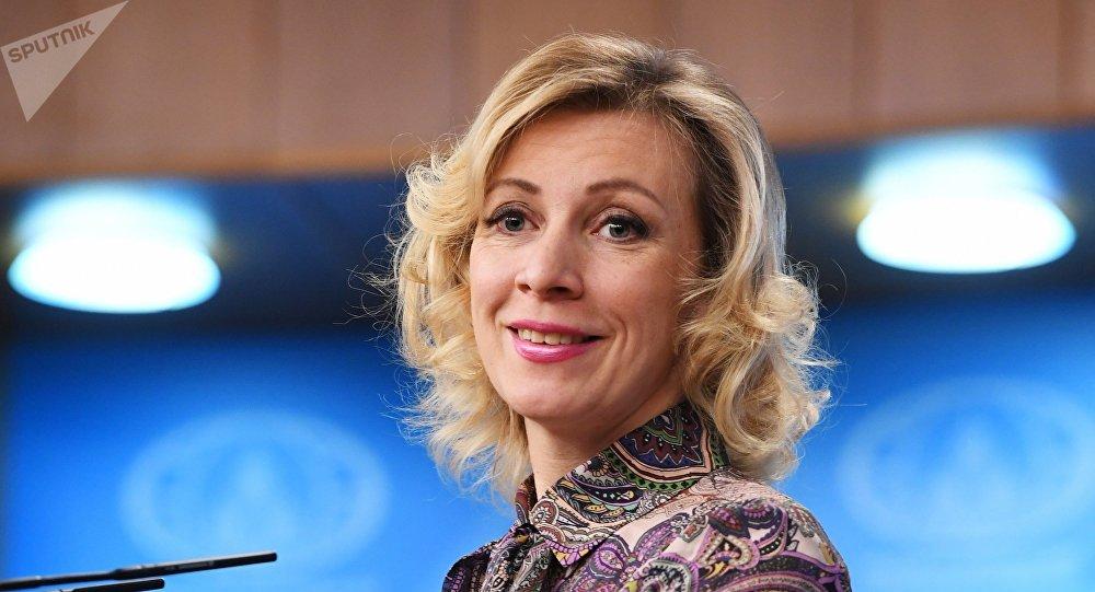 俄罗斯外交部发言人玛丽娅·扎哈洛娃