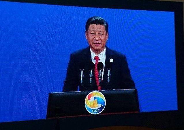 """中国国家主席出席""""一带一路""""开幕式(资料图片)"""