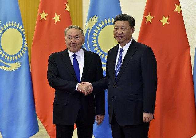 中国国家主席感谢哈萨克斯坦总统为叙利亚调解作出的贡献