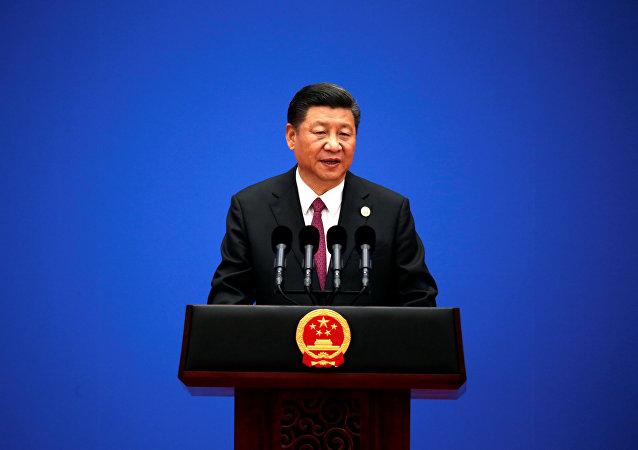 """中国国家主席:中方将在2019年举办第二届""""一带一路""""国际合作高峰论坛"""