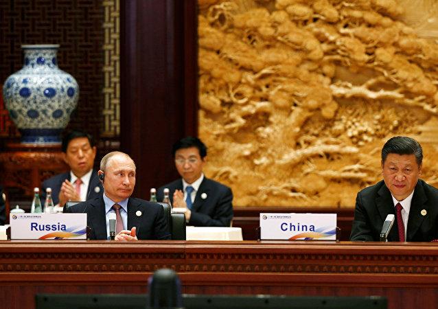 中国外长表示,中方期待俄总统普京于今年访华