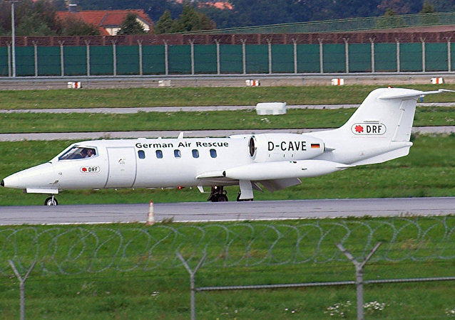 Learjet 35A 飞机