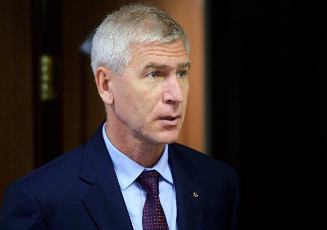 国际大学运动总会主席马特钦受聘成为北体大客座教授