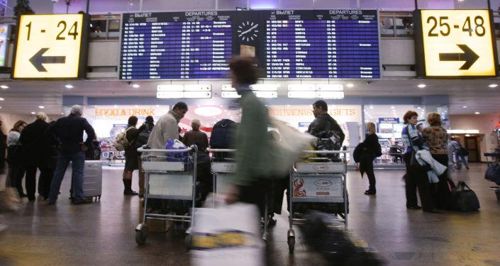 2017年莫斯科谢列梅捷沃机场接待赴俄中国旅客突破70万人次