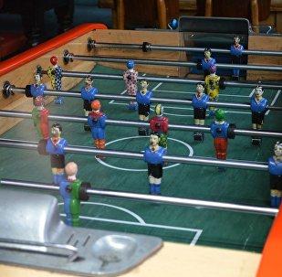 莫斯科地铁站将在联合会杯前设立2个桌上足球台桌