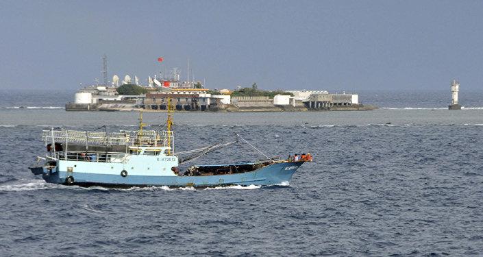 中国外交部:个别南海域外国家和极个别东盟国家对南海形势向好视而不见