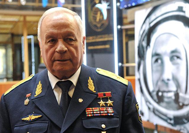 两次荣膺苏联英雄称号的宇航员维克托•戈尔巴特科