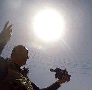 攝像機幫記者擋槍