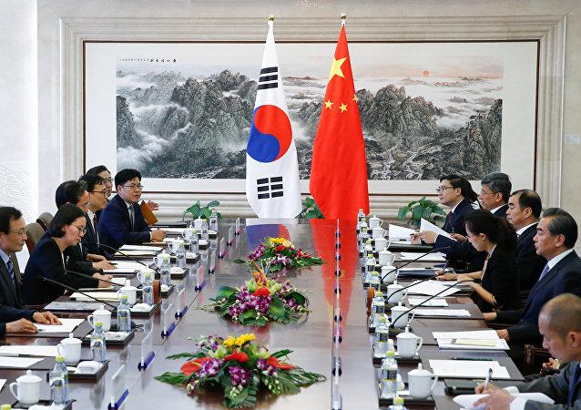 中国外交部:中方希望韩国总统访华推动中韩关系改善与发展