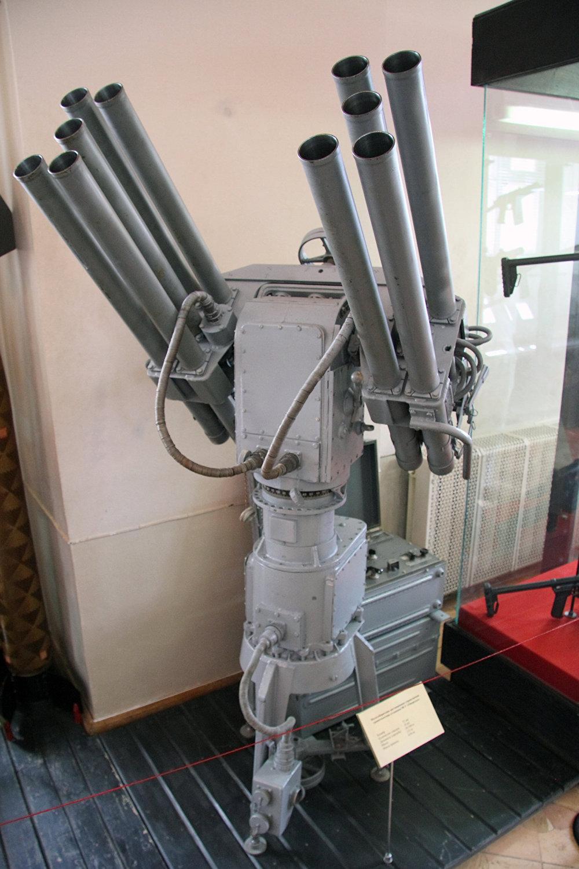 俄罗斯的DP-65反蛙人多管榴弹发射器