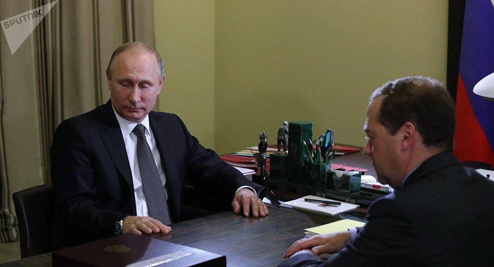 梅德韋傑夫向普京提交2017-2025年政府行動計劃