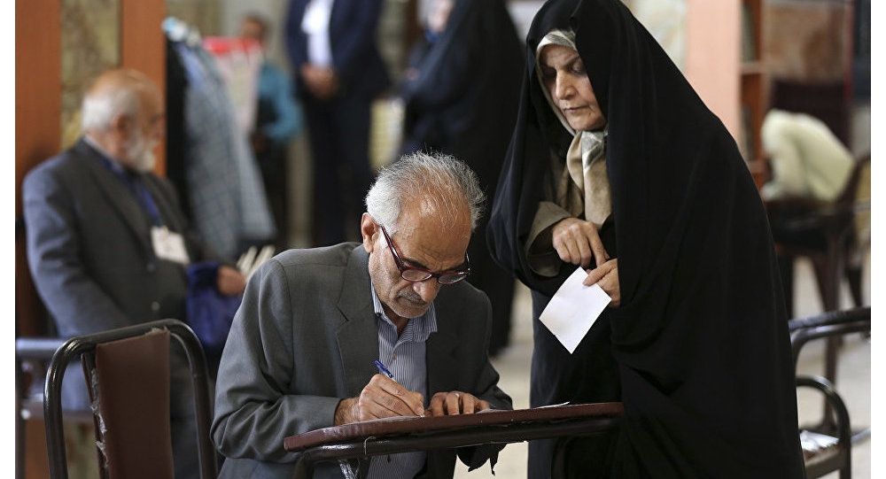 伊朗内政部:该国总统选举开票约2600万张后鲁哈尼领先