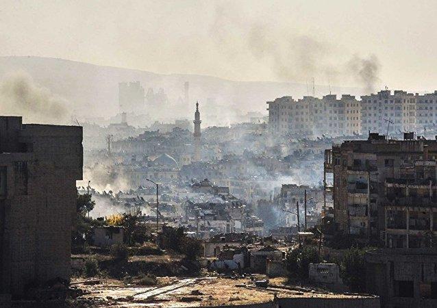 俄防长:俄总参谋长报告了自己访问叙利亚的情况