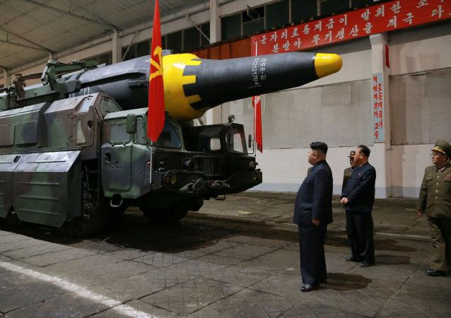 朝鲜发射中程而非洲际弹道导弹