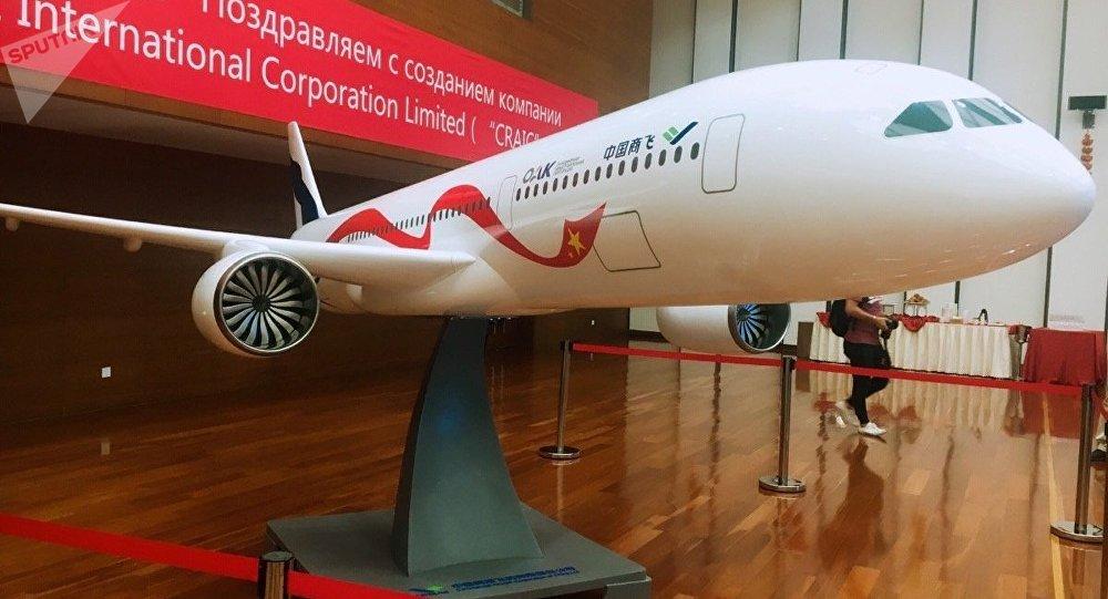 俄工贸部请求政府2018年划拨39亿卢布用于俄中飞机项目