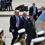特朗普在以色列