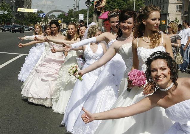 乌克兰新娘, 基辅