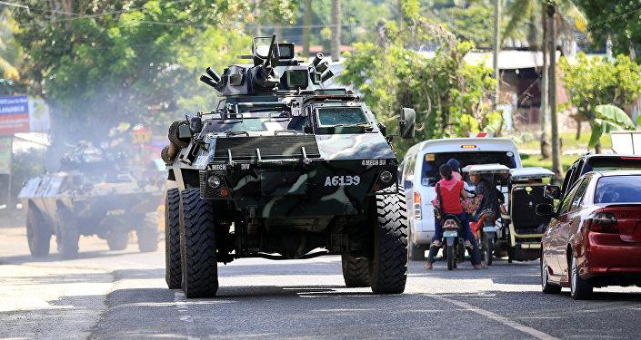 菲律宾军方:美国正帮助自己解放马拉维