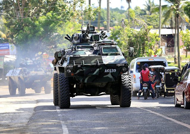 菲律宾政府打击恐怖主义