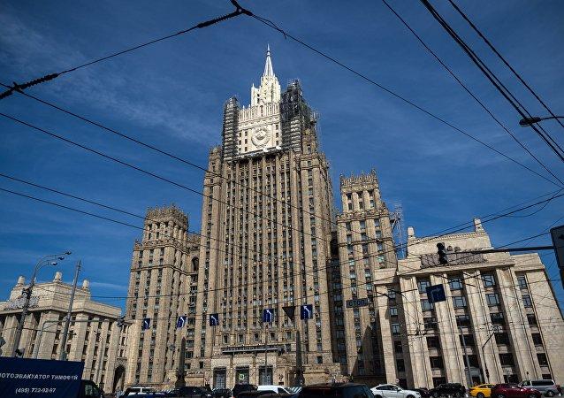 俄外交部對於美國扣留匯往俄國國際匯款表示憤慨