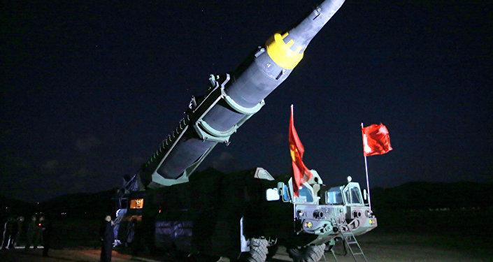 朝鮮進行的是洲際彈道試驗/資料圖片/