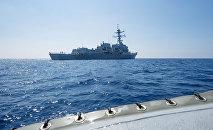 北京不希望看到美國軍艦在南中國海游弋