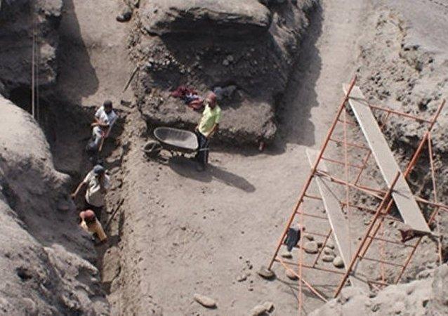 """山东考古新发现:5000年前""""山东大汉""""身高1米9 住联排房"""