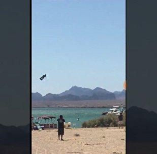 現實版《星球大戰》!美國測試懸浮滑板