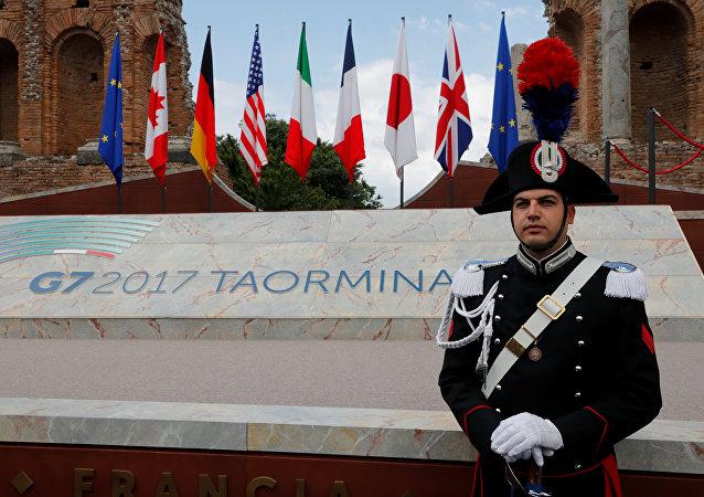 G7首脑签署反恐宣言