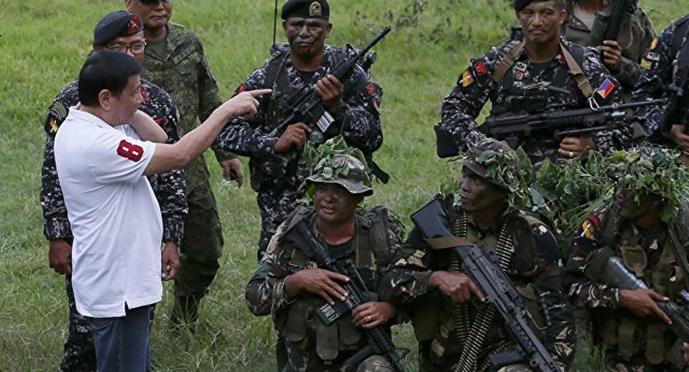 菲律宾总统拒绝同该国南部的武装分子进行谈判