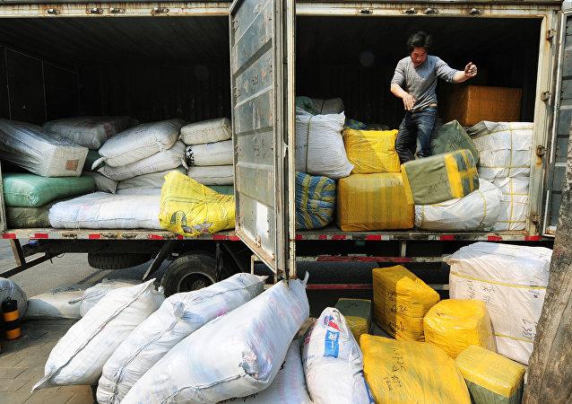 从中国入俄包裹量3月创历史新高