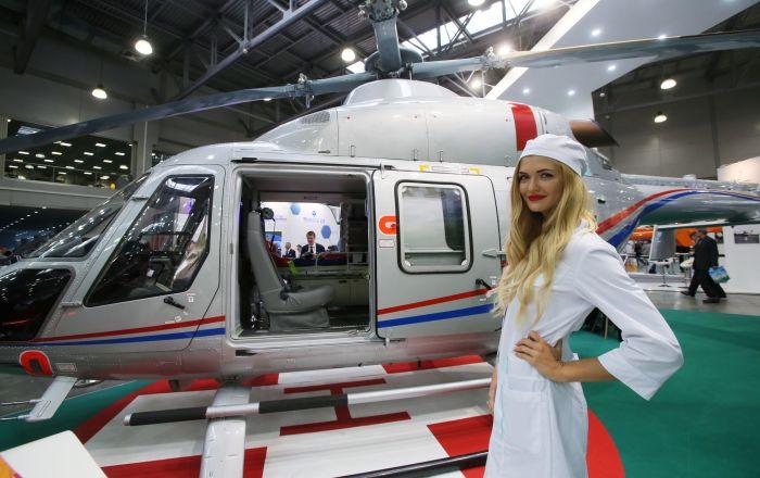俄罗斯轻型多目标直升机安萨特(Ansat)