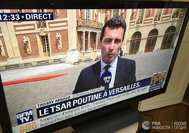 法文媒体将普京称作沙皇