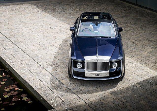 劳斯莱斯发布全球最昂贵汽车