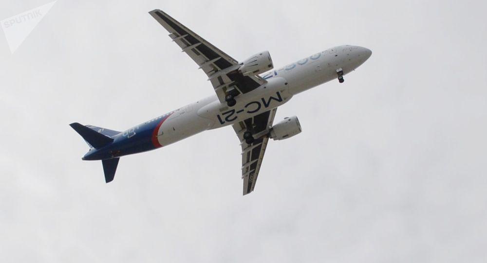 俄「伊爾庫特」集團啓動MS-21客機的第二階段飛行試驗