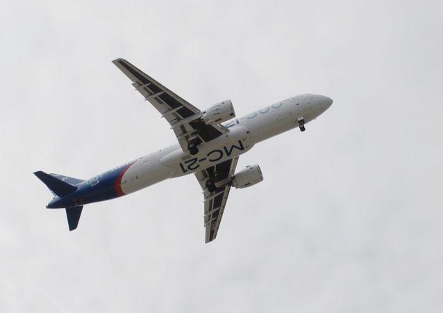 """俄""""伊尔库特""""集团启动MS-21客机的第二阶段飞行试验"""