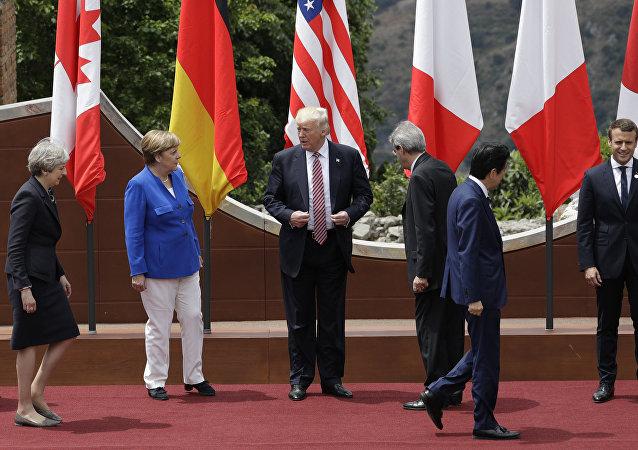 特朗普希望簽署G7聯合聲明